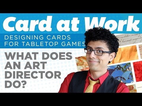 Card at Work - What is an art director?