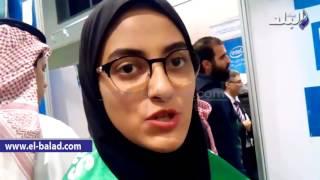 بالفيديو.. طالبة سعودية تفوز بجائزة «إنتل للعلوم» لتطويرها طريقة للوقاية من فيروس «النخاع العظمي»