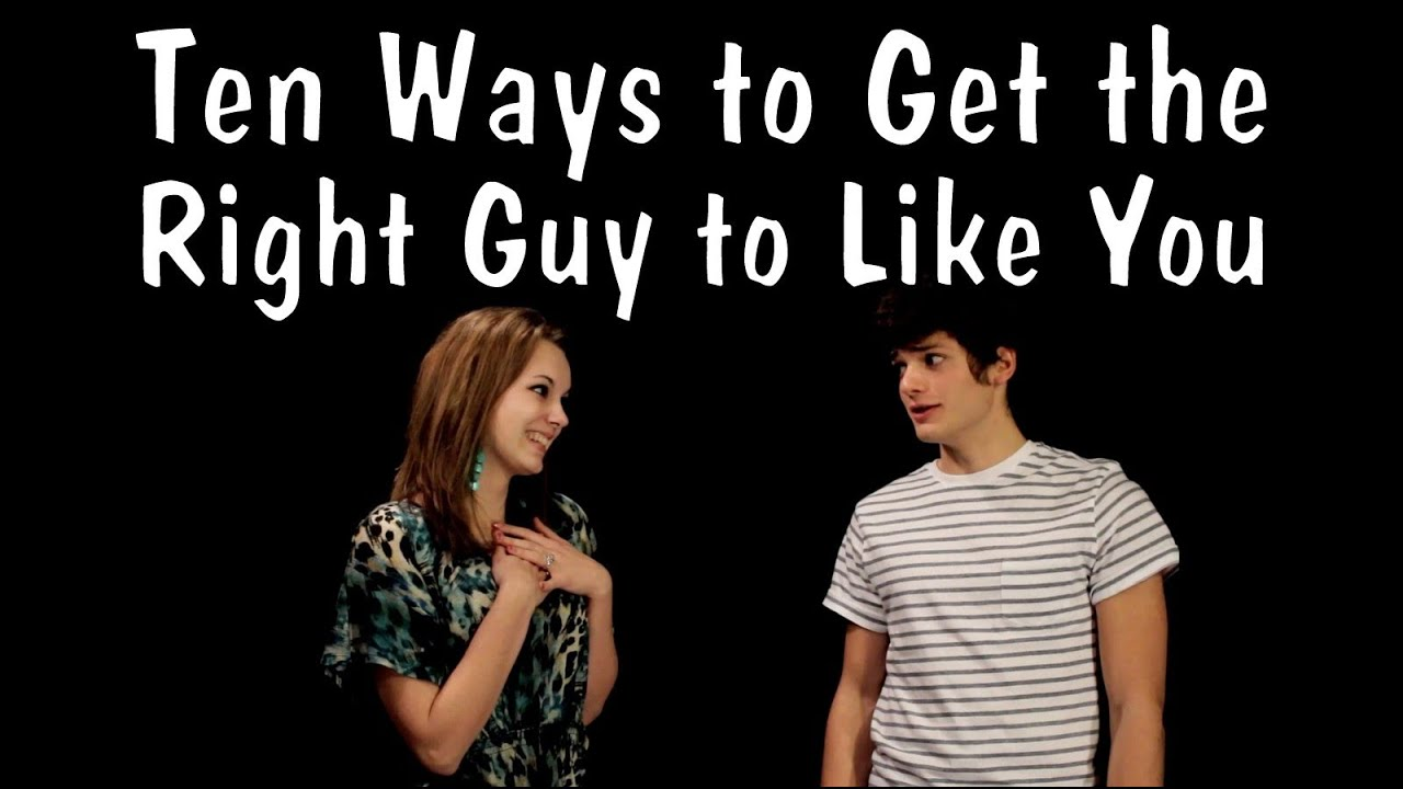 Tips to get a guy to like you