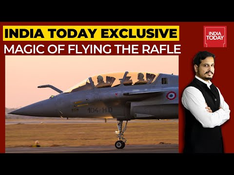 Inside The Cockpit Of Rafale; When India Today's Shiv Aroor Flew Rafale Jet 9 Years Ago