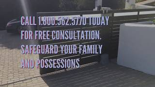 Rust Resistant Driveway Gates Malibu | Mulholland Security Los Angeles 1.800.562.5770