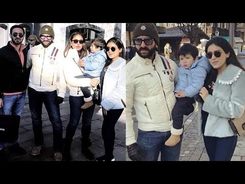 Taimur Ali Khan looks supercute with parents Kareena and Saif in London for New Year Celebrations