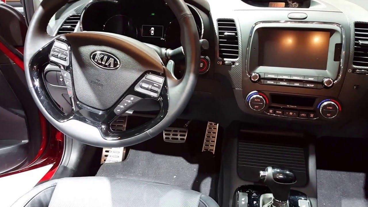 2017 kia forte interior walkaround price site kia cars youtube
