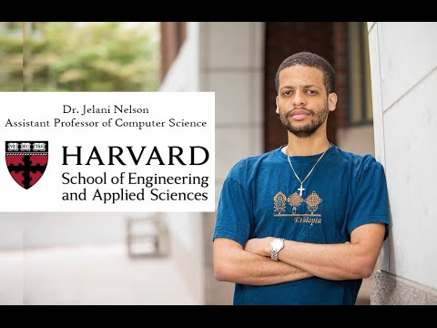 The Ethiopian-American Harvard Computer Science Professor Dr. Jelani Nelson