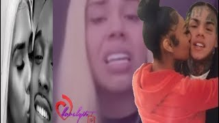 6ix9ine's Baby Mama breaks down CRYING over him& jade+ is she FAKING her relationship Bennie Bates🤔