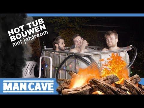 Goedkope hot tub maken (of jacuzzi maken) in je tuin met venturi