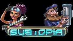 Subtopia Slot - NetEnt Spiele - 12 Free Spins