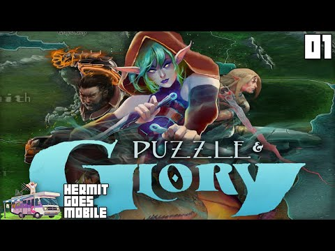 """A MATCH-3 RPG?!?"" Puzzle & Glory  iOS / Android 1080p HD walkthrough"