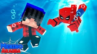 Minecraft: MENINO ARANHA - SALVEI UMA CRIANÇA SE AFOGANDO!!! #200