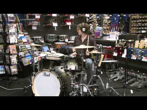 Jason Hartless Drum Solo @ Guitar Center Flint Clinic