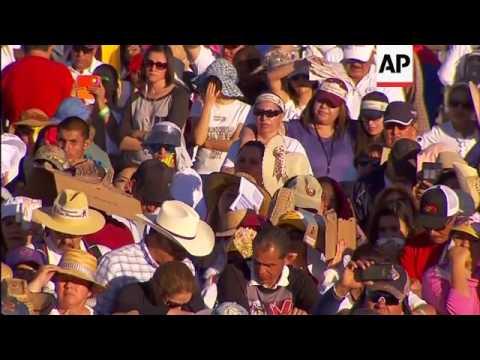 Pope's Visit to Juarez Felt Across Border in US