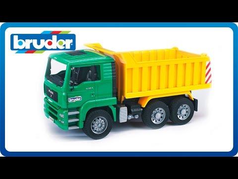 Bruder Toys MAN TGA Dump Truck #02765