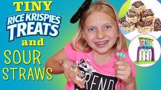 Yummy Nummies Tiny Rice Krispie Treats & Mini Sour Straws - Always Alyssa