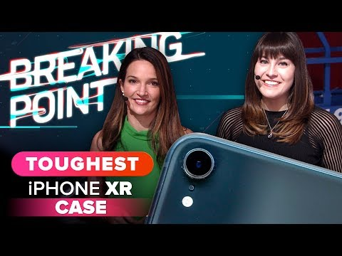 Who holds the title of toughest iPhone XR case at CES 2019?