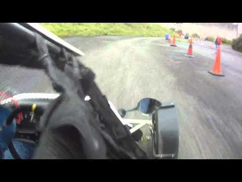 Derek Deane, JCR Rally Kart in Saehan Rallysprint September 2013