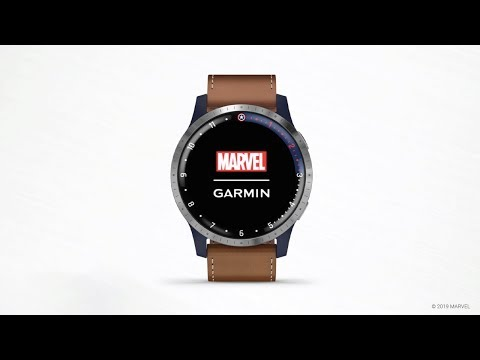 Garmin Legacy Hero Series First Avenger: Get To Know Your Watch