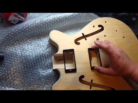GFS Factory Buyout ES 335 Hohner Build - Day 2