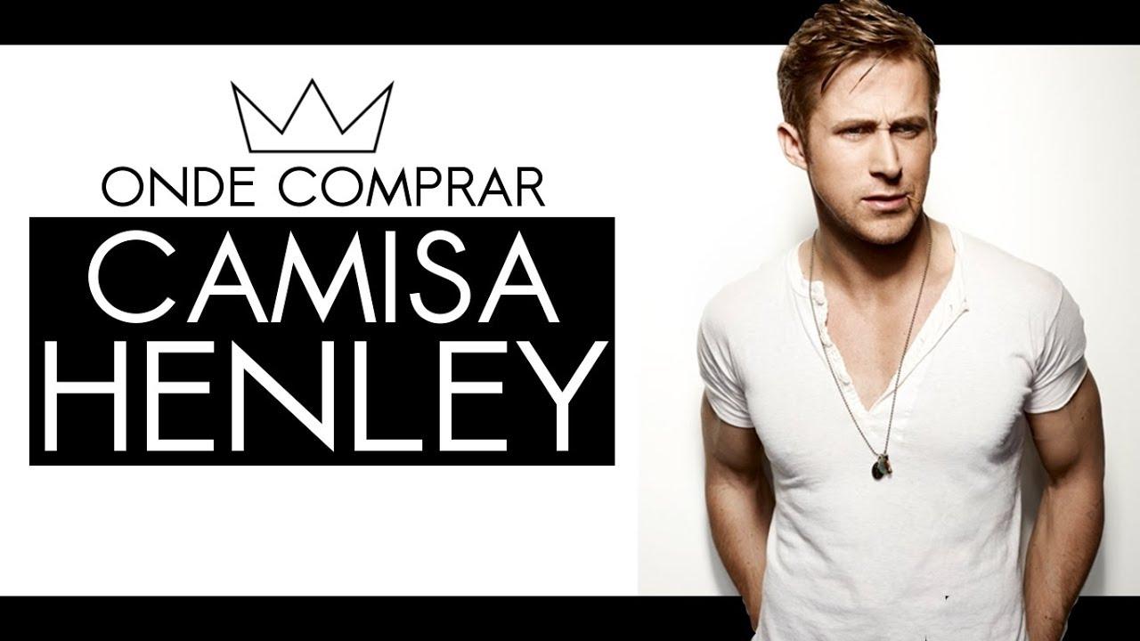 38b8a19a28 Onde comprar camiseta Henley no Brasil   MODA MASCULINA - YouTube