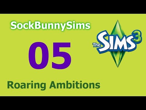 Sims 3 - Roaring Ambitions - Ep 05 - Searching the Galaxy