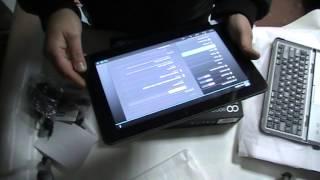 Планшет GoClever TAB R105BK обзор(Обзор планшета GoClever TAB R105BK. За качество обзора сори если што не так. Просто понравилса и решыл снять видео,..., 2013-12-13T17:05:31.000Z)