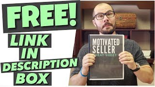 How To Get A FREE Motivated Seller Script