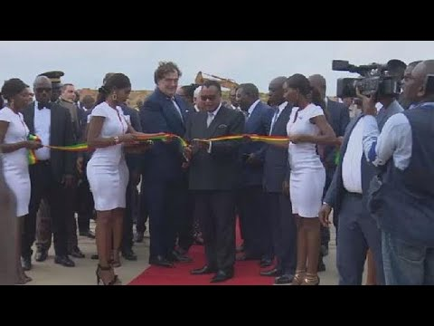 Congo unveils new docks in commercial city port