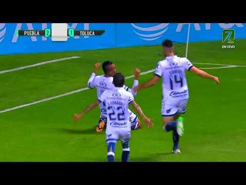 Gol de D. Álvarez | Puebla 2 - 1 Toluca | Liga BBVA MX - Guardianes 2020 - Jornada 7