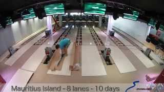 Installation Bowling Stop motion