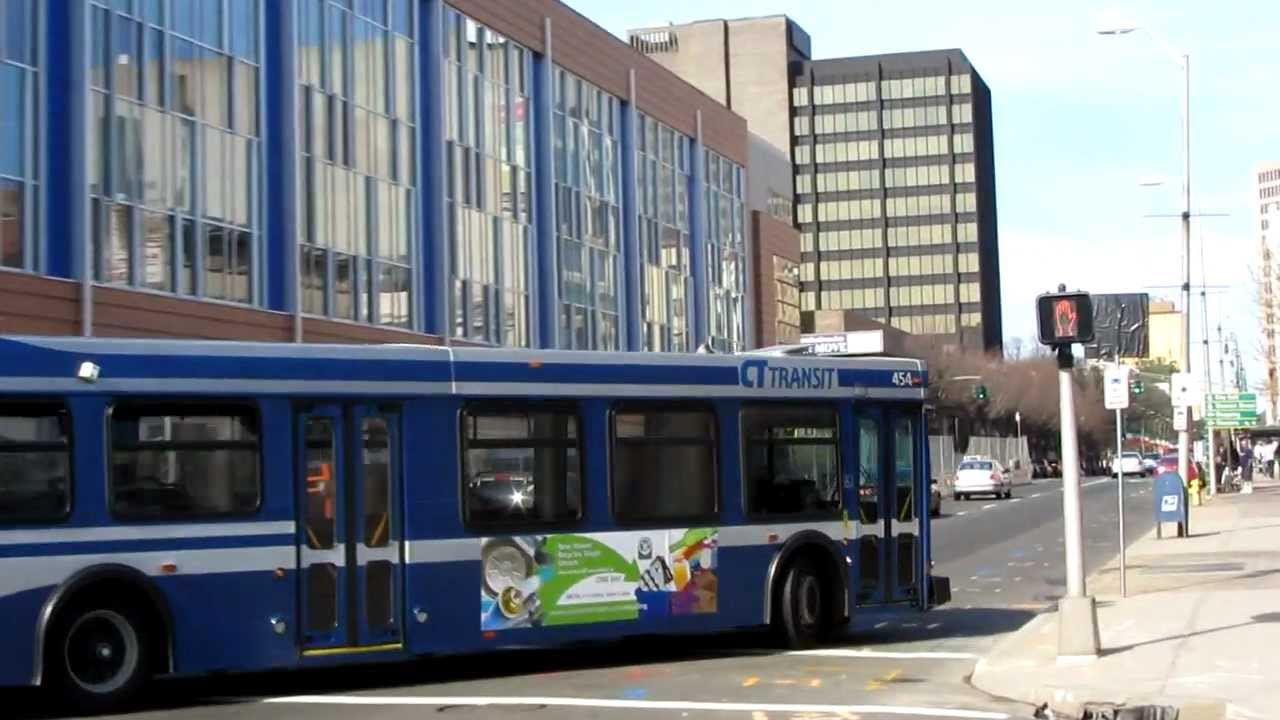 Buses In New Haven Ct Youtube