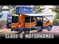 Top 10 Class-B Motorhomes You Can Buy in 2020 (Best Models and Conversions)