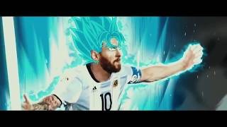 LIONEL MESSI BECAME SONGOKU ARGENTINA LIVE WORLD CUP 2018 ♛ HD