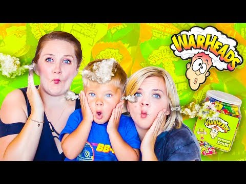 WORLDS SOUREST CANDY CHALLENGE! 😲 (W/Missy and Ollie Lanning!) //  SoCassie
