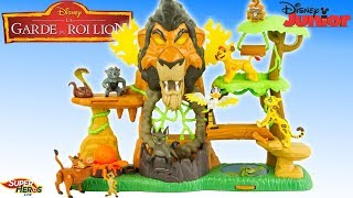 La Garde du Roi Lion l'Ascension de Scar Lion Guard Rise of Scar Playset Disney Jouet Noel Simba
