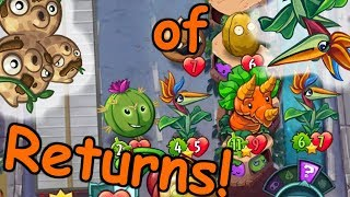 3-Nuts of Paradise Returns! W/ Improvements and a Carrot - Pvz Heroes