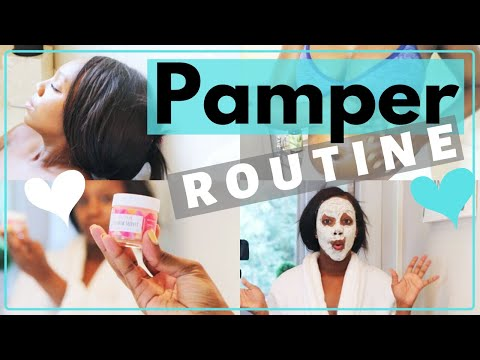 MY PAMPER ROUTINE | Pregnancy Edition! thumbnail