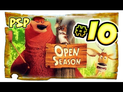 Open Season Walkthrough Part 10 (PSP) Movie Game [Full 10 of 10]