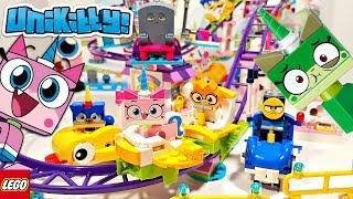 Lego Unikitty Unikingdom Fairground Fun Building Review 41456