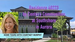 New Homes in Aurora Colorado - Residence 40223 by Century Communities at Southshore
