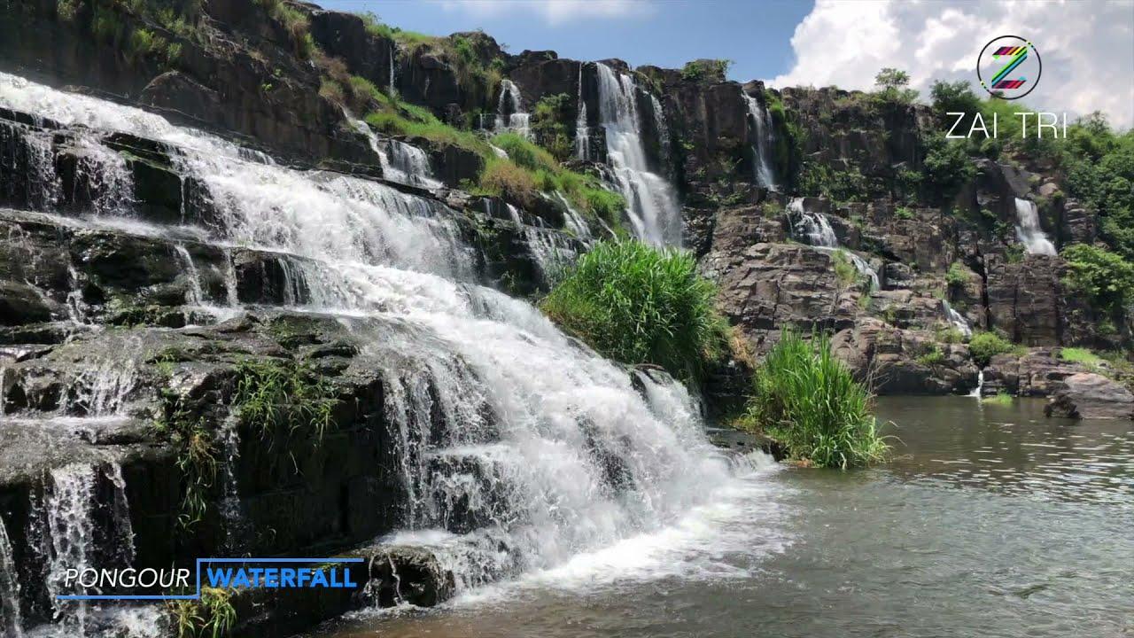 THÁC PONGOUR WATERFALL đẹp nhất trên du lịch DALAT | ZaiTri