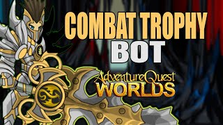 AQW - COMBAT TROPHY Bot - NEW and UPDATED | Grimoire 3.8+