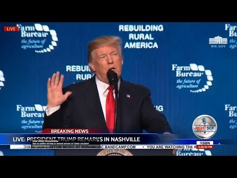 🔴LIVE: President Trump SPEECH in Nashville at American Farm Bureau Convention - LIVE COVERAGE