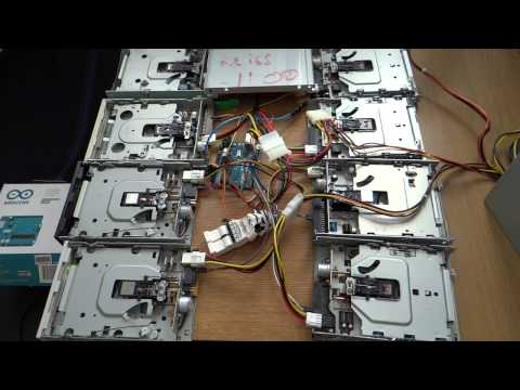 Raspberry Beret by Prince on 8 Floppy Drives