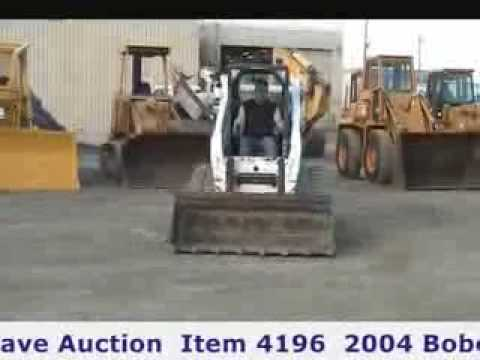 Bobcat Skid Steer In Online Construction Equipment Auction