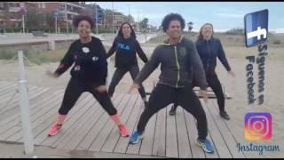Los 4 - Arrebatate zumba David Brasukas 2017 coreografía