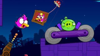 Angry Birds Cannon Collection 4 - RESCUE GIRLFRIEND AND BLASH BAD PIGS!!