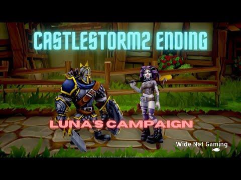 CastleStorm II Luna's Campaign Ending |