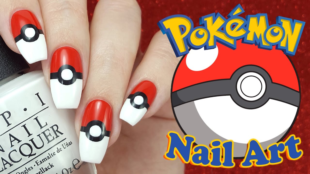 Pokmon Nail Art Youtube