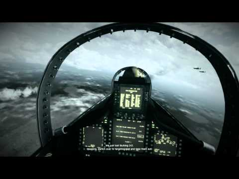 Battlefield 3 Jet Mission Gameplay