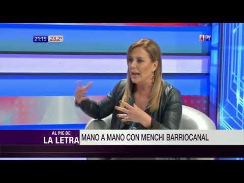 'Menchi' Barriocanal en Al Pie de la Letra  17  04  2018