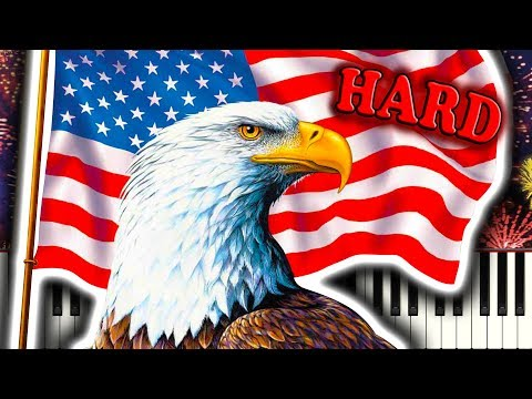 THE STARS AND STRIPES FOREVER - Piano Tutorial